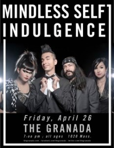 Mindless Self Indulgence @ The Granada  | Lawrence | Kansas | United States