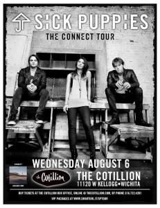 Sick Puppies @ The Cotillion in Wichita | Wichita | Kansas | United States