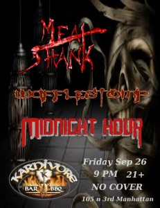 Meat Shank, Wafflestomp, Midnight Hour @ Karnivore | Manhattan | Kansas | United States