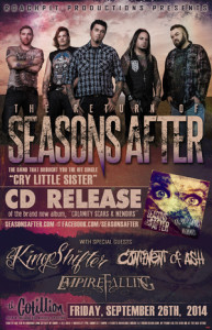 Seasons After w/ Kingshifter @ The Cotillion | Wichita | Kansas | United States