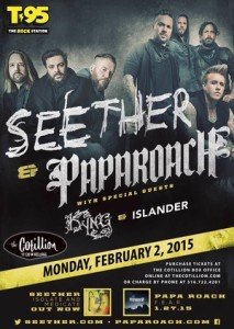 SEETHER & PAPA ROACH  @ The Cotillion  | Wichita | Kansas | United States