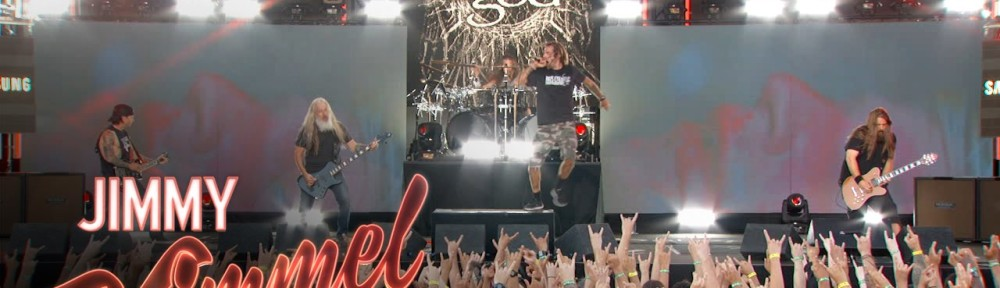 Lamb of God on Jimmy Kimmel Live