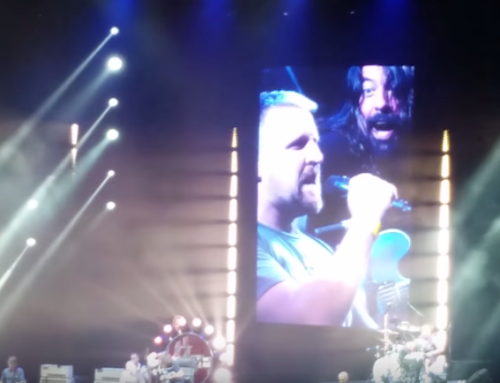 Here's What Happens When Foo Fighters Invite A Canadian Fan On Stage To Sing Tom Sawyer (Video)