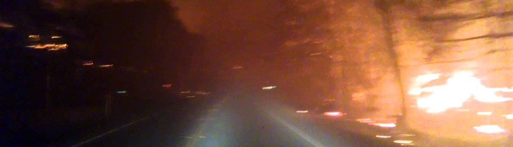 VIDEO: Dude Escapes Wildfire