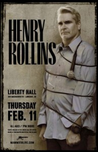 Henry Rollins @ Liberty Hall | Lawrence | Kansas | United States