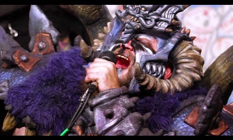 Gwar thrashes through Cyndi Lauper's 'She Bop'