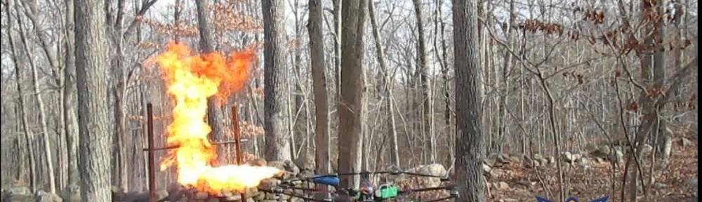 The Only Correct Way to Roast Your Holiday Turkey Is With a Flamethrowing Drone