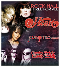 Heart, Joan Jett & The Blackhearts & Cheap Trick @ Starlight Theater | Kansas City | Missouri | United States
