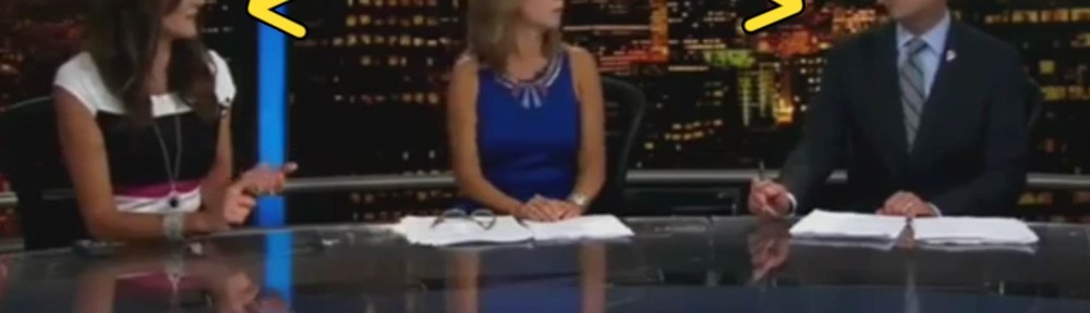These Two News Anchors Don't Hide Their Mutual Hatred Very Well