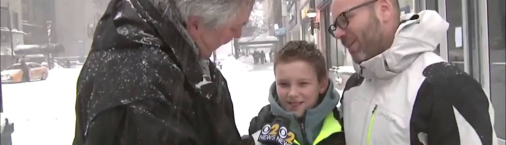 This report turned awkward when this son asked his dad for hand lotion