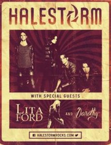 Halestorm & Lita Ford @ The Cotillion | Wichita | Kansas | United States
