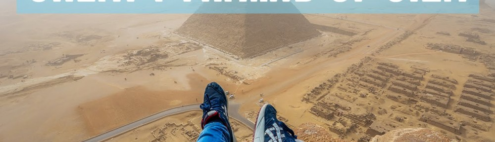 Some Guy Climbed One of the Pyramids in Egypt and Took Video