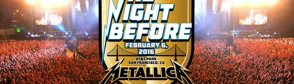 "WATCH: Metallica's ""The Night Before"" Performance for Super Bowl 50"