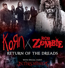 Rob Zombie & Korn @ Cricket Wireless Ampitheater | Bonner Springs | Kansas | United States