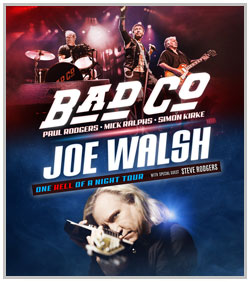 Bad Company & Joe Walsh @ The Starlight Theater | Kansas City | Missouri | United States