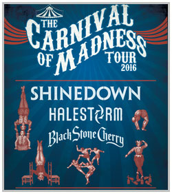 Shinedown & Halestorm @ The Starlight Theater | Kansas City | Missouri | United States