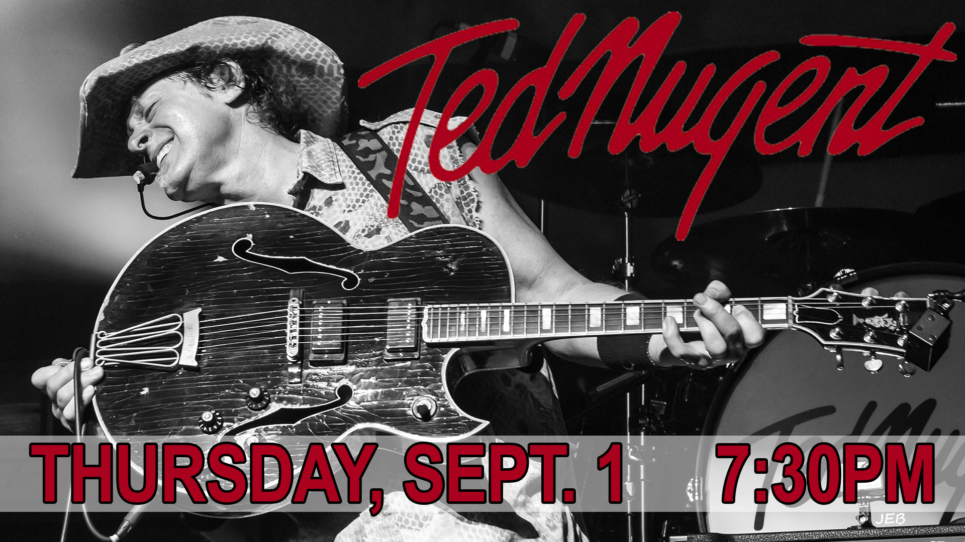 Ted Nugent @ Salina Bicentennial Center | Salina | Kansas | United States