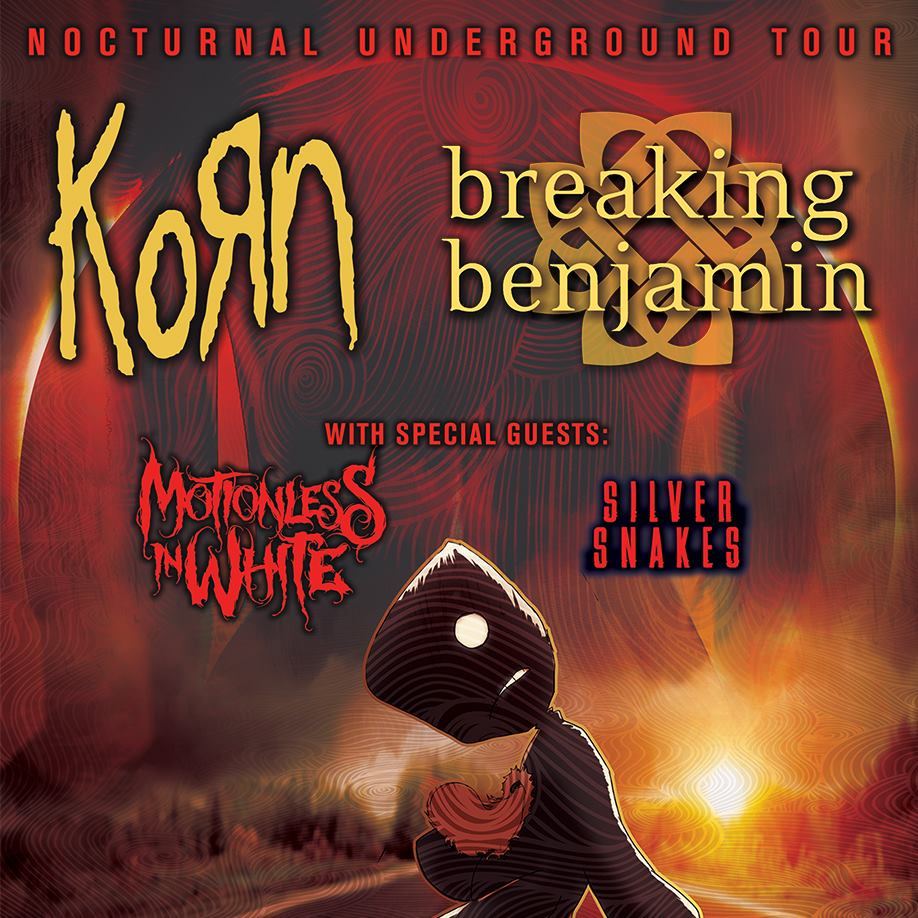 Korn and Breaking Benjamin @ Kansas Expocentre | Topeka | Kansas | United States