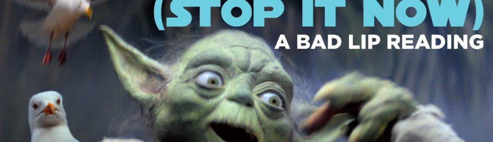 Bad Lip Reading: Yoda Sings