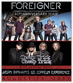 Foreigner and Cheap Trick @ Starlight Theater | Kansas City | Missouri | United States