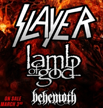 Slayer w/ Lamb of God @ Providence Medical Center Amphitheater | Bonner Springs | Kansas | United States