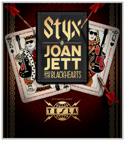 Styx & Joan Jett w/ Tesla @ Starlight Theater | Kansas City | Missouri | United States