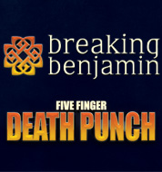 Five Finger Death Punch & Breaking Benjamin w/ Bad Wolves @ Intrust Bank Arena | Wichita | Kansas | United States