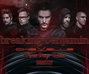 Breaking Benjamin w/ Chevelle & Three Days Grace @ Providence Medical Center Amphitheater