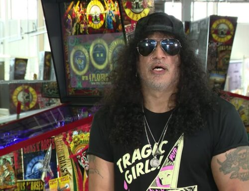 SLASH Says He's Written 'A Lot Of Good Material' While In Quarantine