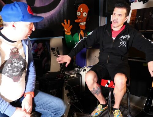 ANTHRAX's CHARLIE BENANTE Says His Quarantine Jams Helped Him Become Creative Again