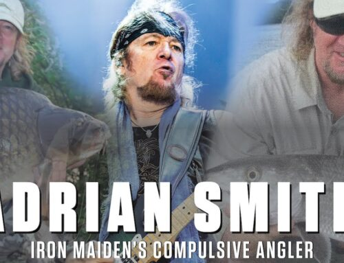 IRON MAIDEN's ADRIAN SMITH: Fishing Is 'A Great Way To Balance Myself Out'