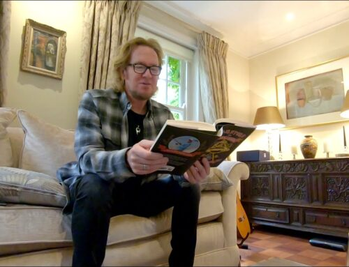 IRON MAIDEN's ADRIAN SMITH Reads Excerpt From His Fishing Memoir 'Monsters Of River & Rock' (Video)