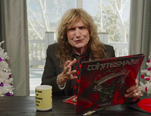 WHITESNAKE's DAVID COVERDALE Unboxes 'Love Songs' Collection (Video)