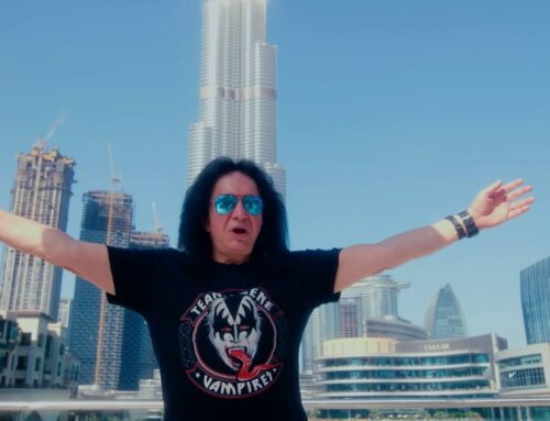 GENE SIMMONS Says He's Really Fine After Testing Positive For COVID