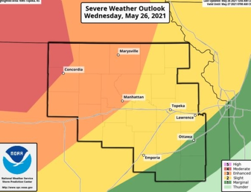 Enhanced Risk for Severe Weather In Manhattan Area Tonight Into Thursday