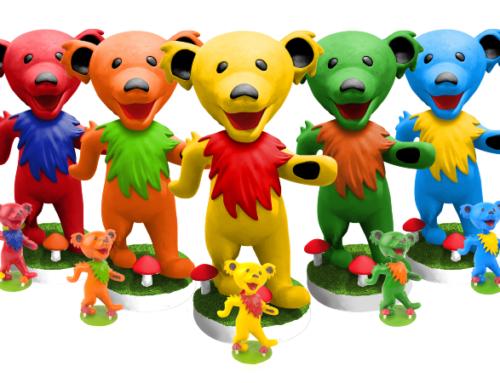 BobbleBoss.com Offers Up Giant 2-foot Grateful Dead Dancing Bear Bobble Heads