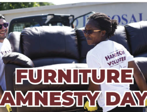 Volunteers Needed For Furniture Amnesty Day This Friday