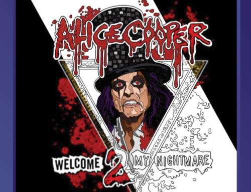 ALICE COOPER Official Coloring Book Now Available