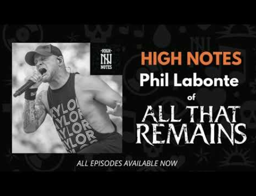 ALL THAT REMAINS' PHIL LABONTE Says He Is Nearly Four Years Sober