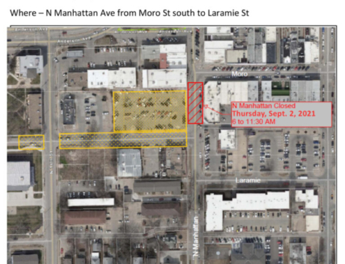 North Manhattan Ave. In Aggieville Will Close Briefly Thursday Morning
