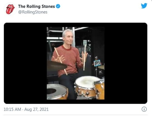 ROLLING STONES Share Video Tribute To CHARLIE WATTS