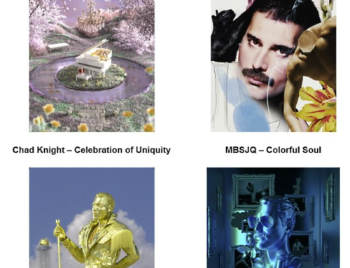 Four New QUEEN NFT Artworks Celebrating FREDDIE MERCURY Coming From SuperRare