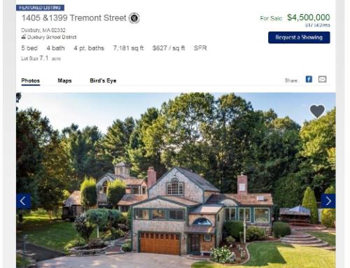 AEROSMITH's JOE PERRY Lists Massachusetts Mansion For $4.5M
