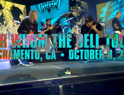 Watch Pro-Shot Video Of METALLICA Performing 'For Whom The Bell Tolls' At AFTERSHOCK Festival